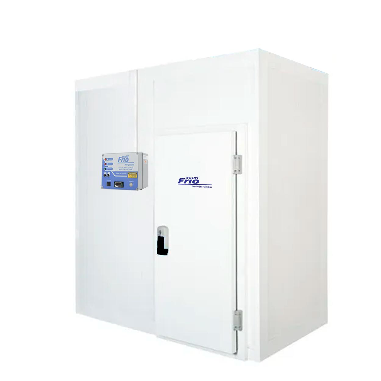 Câmara Frigorífica/Fria Modular Para Congelados 1,45 X 2,30 Metros