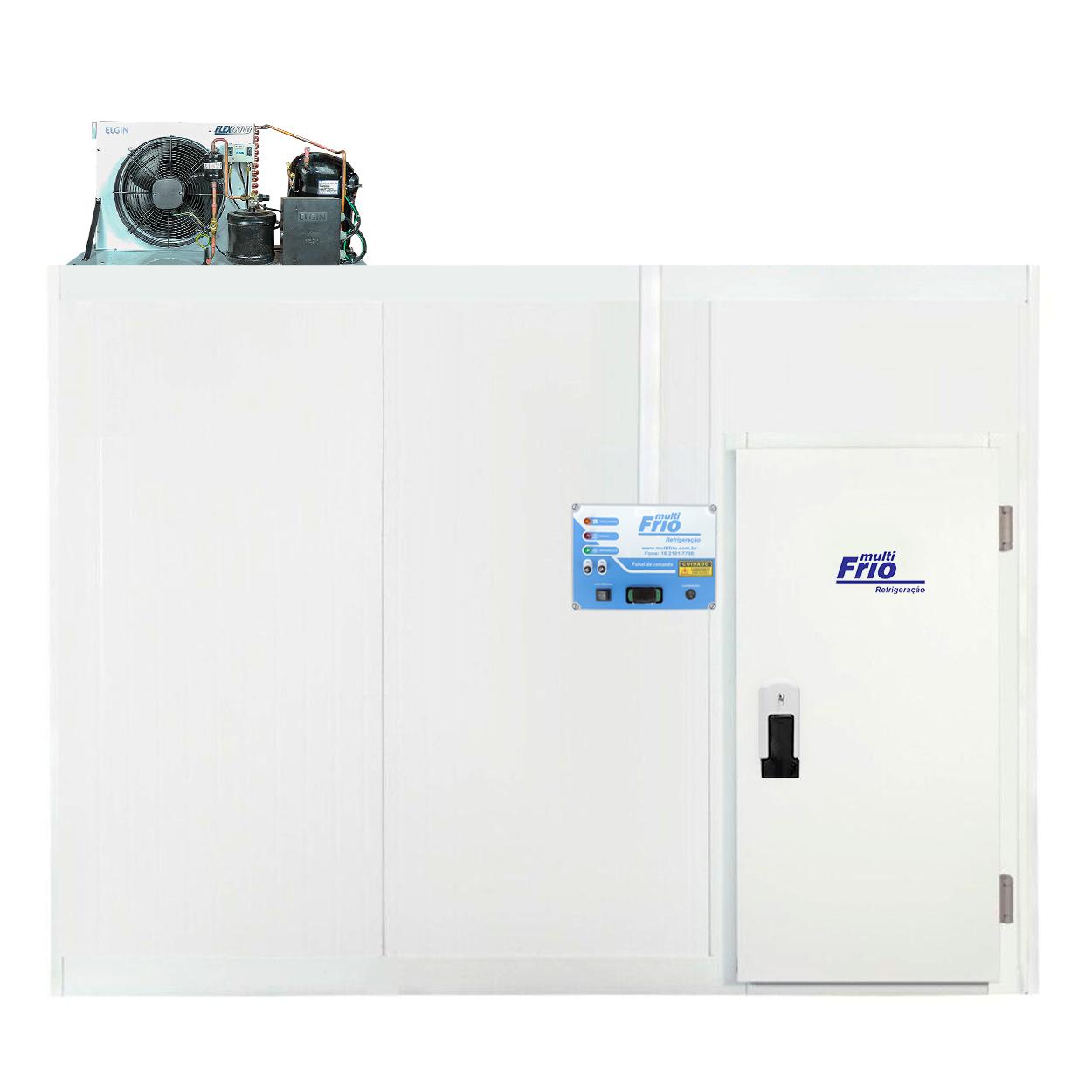 Câmara Frigorífica/Fria Modular Para Congelados 3,75 X 3,45 Metros