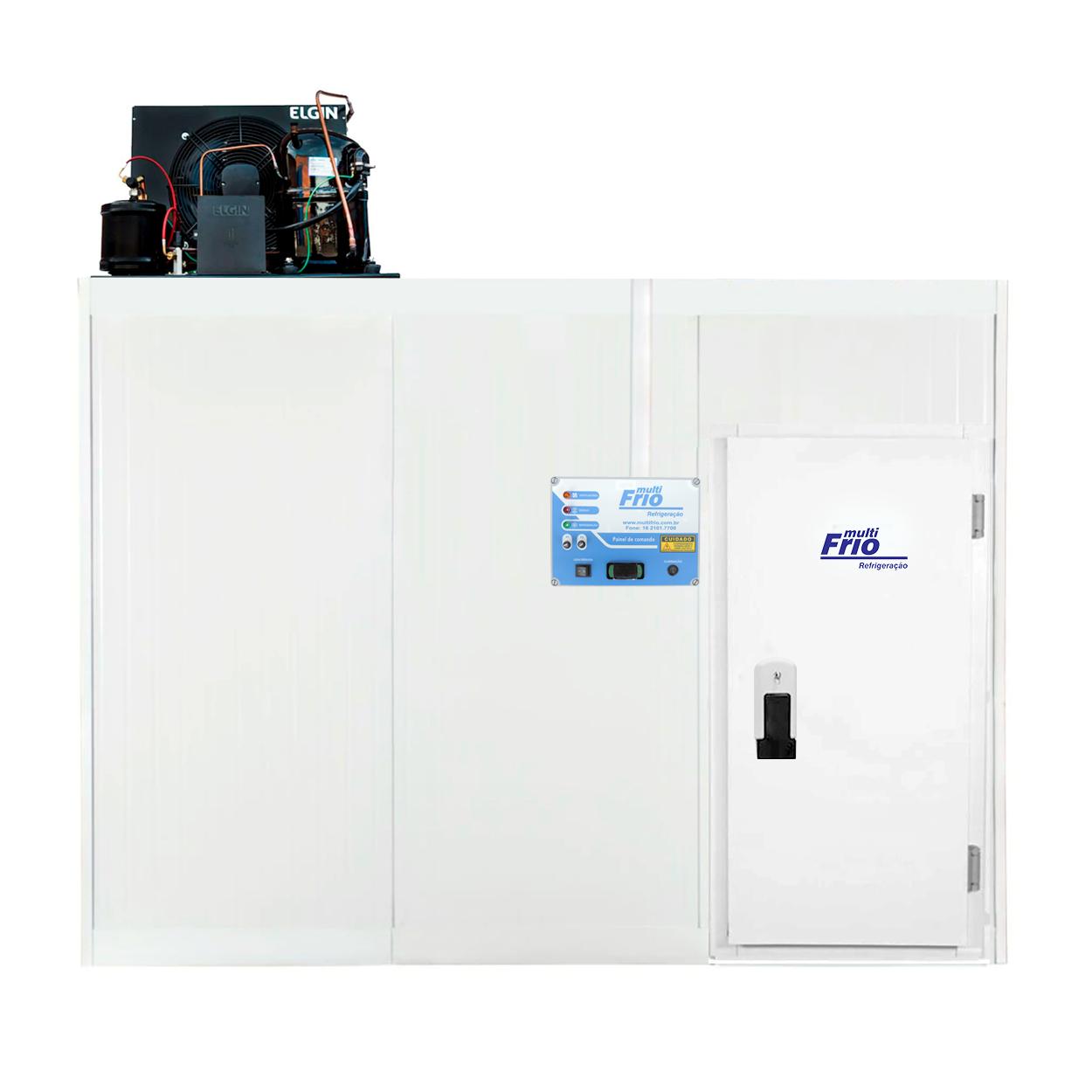 Câmara Frigorífica/Fria Modular Para Congelados 3,75 X 4,60 Metros