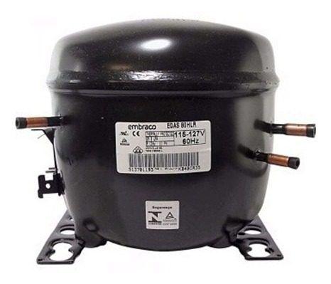 Motor Compressor Embraco 1/3 Egas 100 Hlr 110v R134