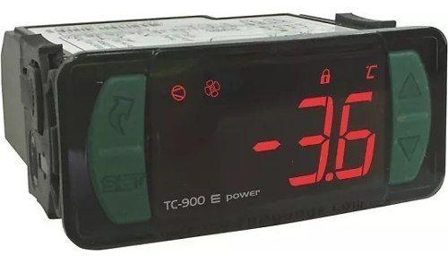 Controlador Refrigeração Tc900e Power Full Gauge