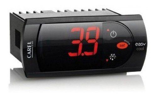 Controlador De Temperatura Termostato Carel Pjezc00000 230v com Degelo