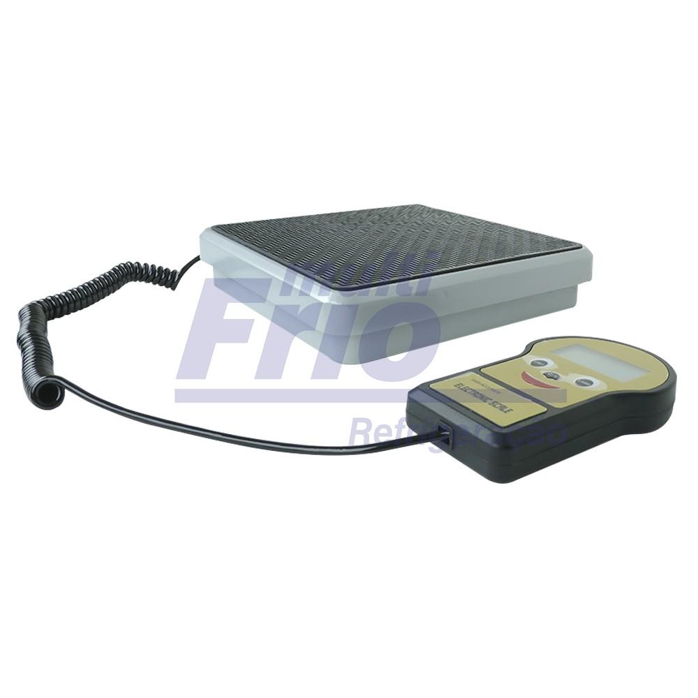 Balança Eletrônica Com Fio - 100 Kg Indicada Para Carga de Gás Refrigerante