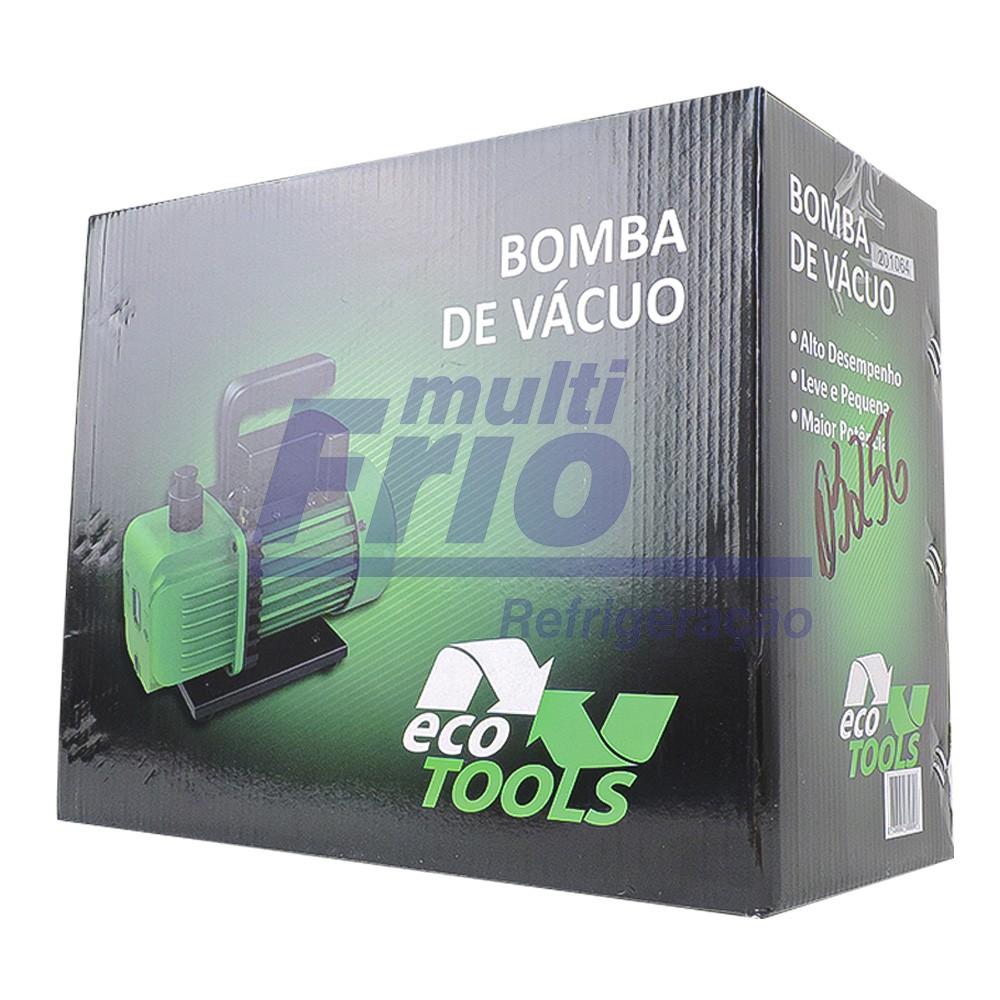 Bomba de Vacuo 5 CFM 127V 220V Duplo Estagio Ecotools