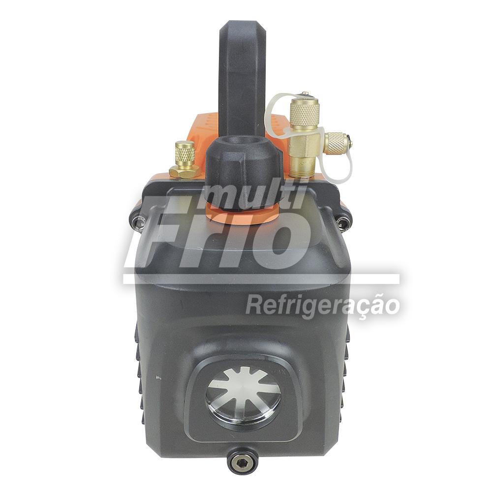 Bomba de Vácuo 6 CFM Suryha Duplo Estagio 80155004 + Óleo Mineral Iso Vg 46 1 Litro