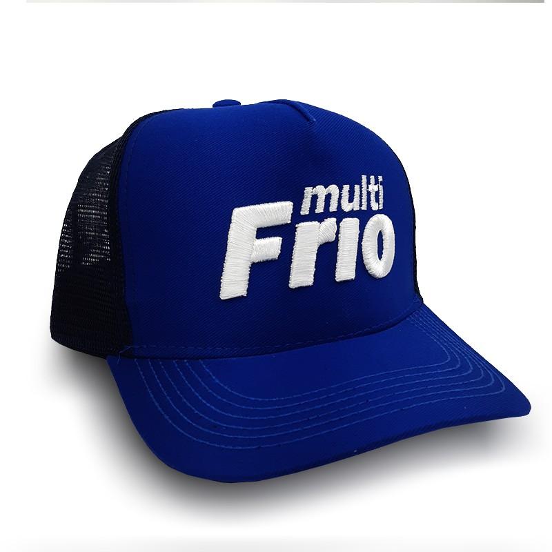 Boné Trucker Multifrio Shop Azul