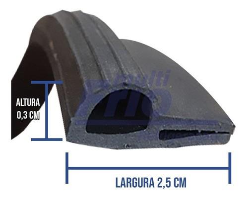 Borracha Gaxeta R15 para Balcão Por Metro