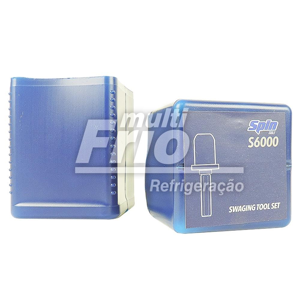 Broca Flangeador Spin Cobre e Alumínio 1/4 3/8 1/2 5/8 3/4 7/8 Fspin6000