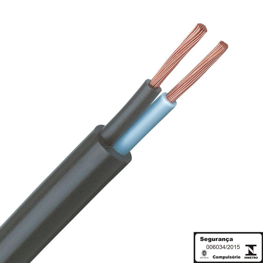 Cabo Pp 2 Vias De 1,5 Milimetros 2x1,5mm Por Metro