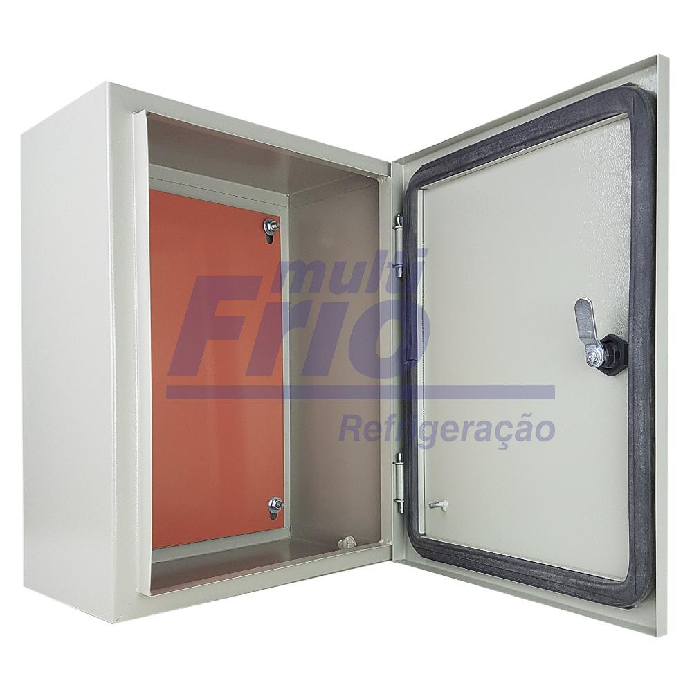 Caixa Metálica Quadro Comando Elétrico 40 cm x 30 cm x 20 cm
