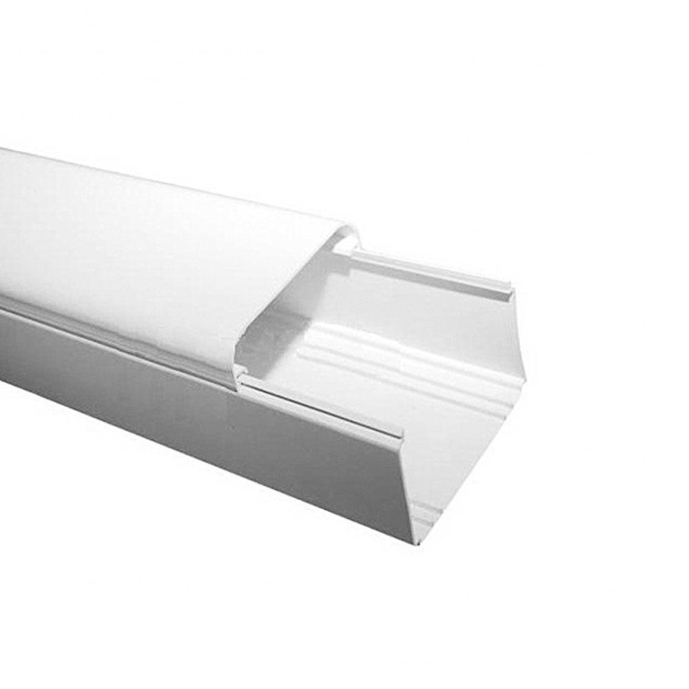 Caneleta Guarnição Split PVC CB 80 2 Metros