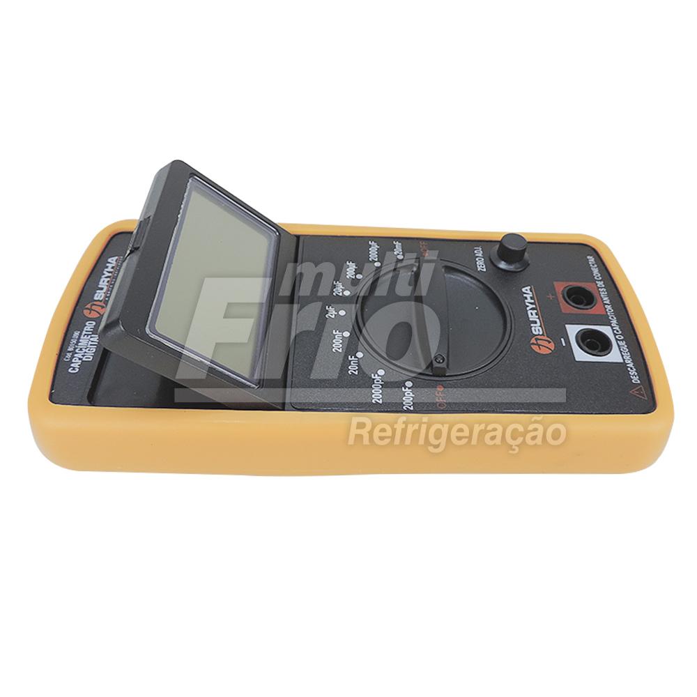 Capacímetro Digital Suryha