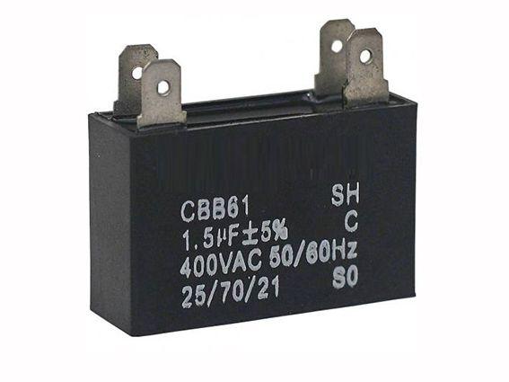 Capacitor 2.5 UF 450V Para Ar Condicionado