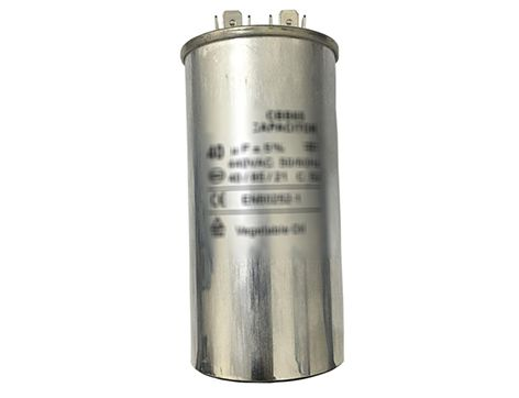 CAPACITOR PERMANENTE 60 + 1,5UF 450V DUPLO