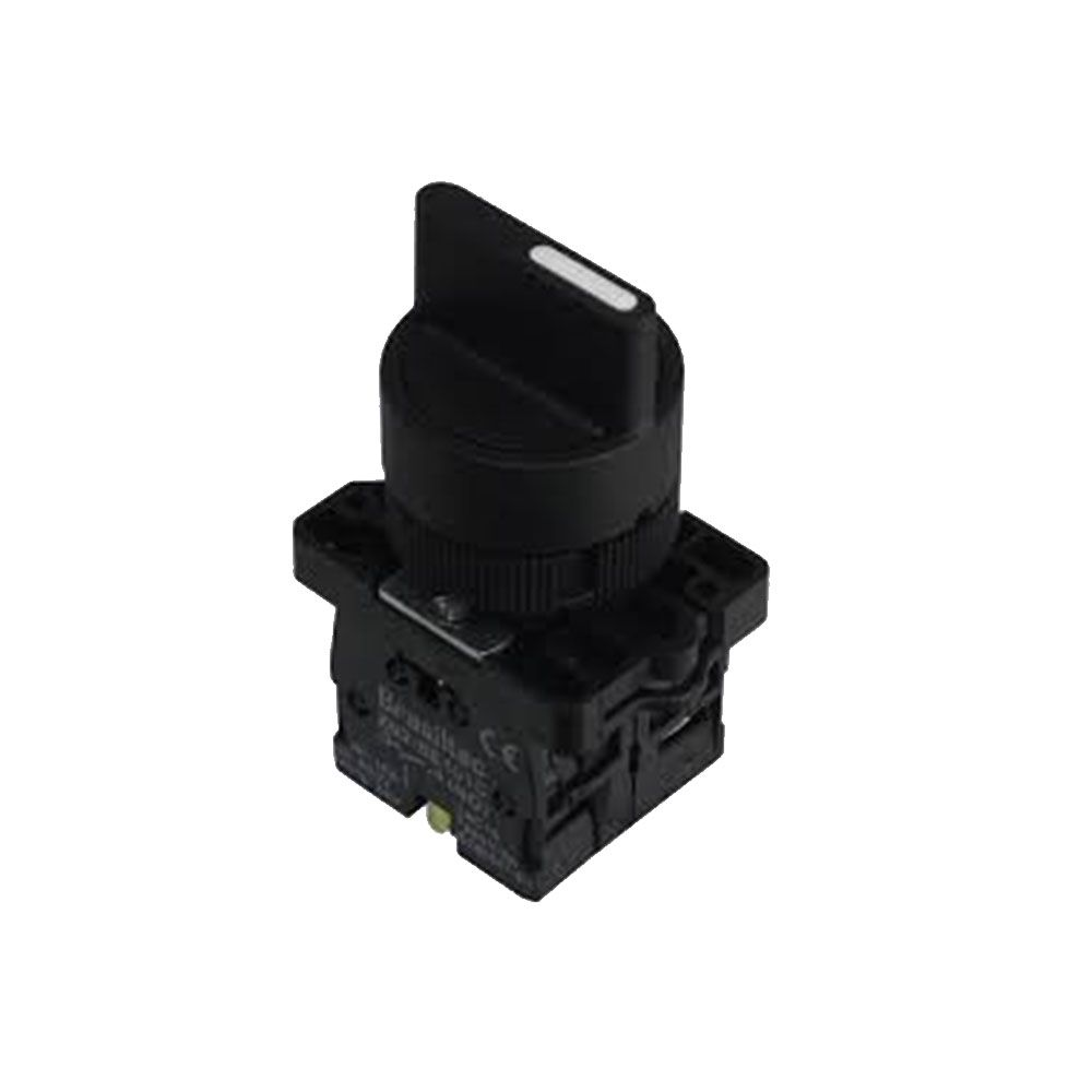 Chave Comutadora Seletora Liga e Desliga LAY5-ED21 2 posições