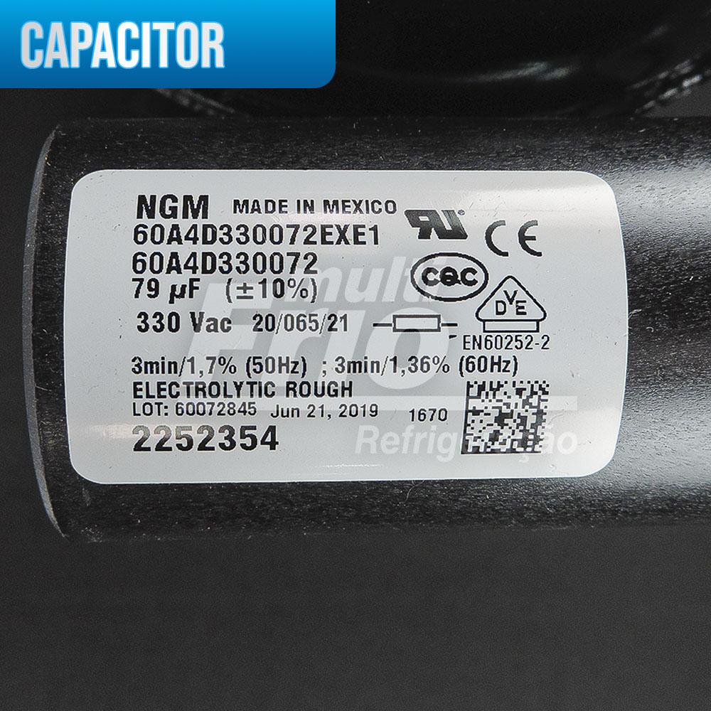 Compressor Aspera Embraco NEU6210E 1/2hp 220v R22
