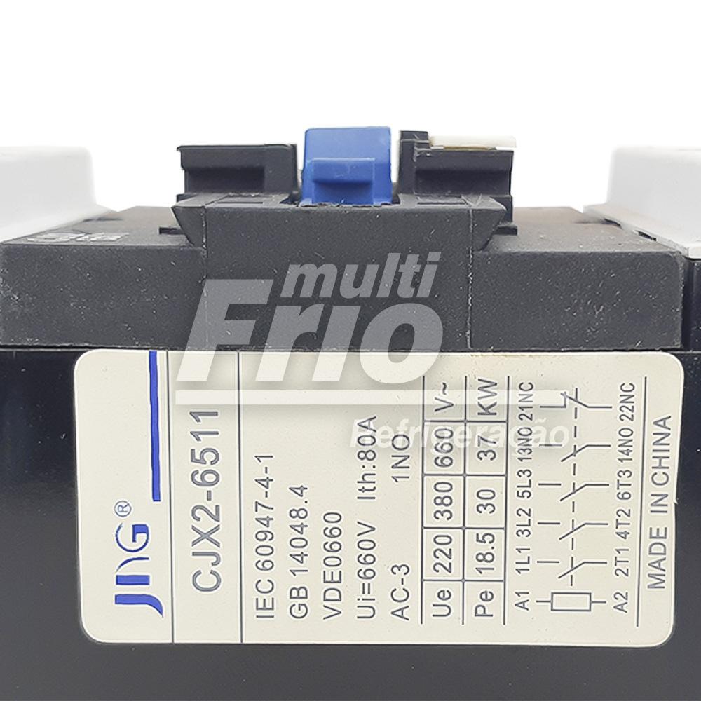 Contator Tripolar 65 AMP 220V