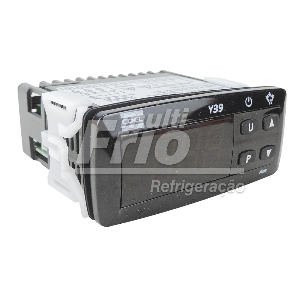 Controlador De Temperatura Para Refrigeração Termostato Coel Y39 Hrrr BIVOLT