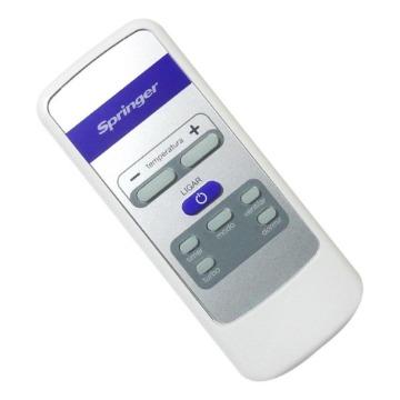 Controle Remoto Ar Condicionado Janela Springer DUO GW79037024B