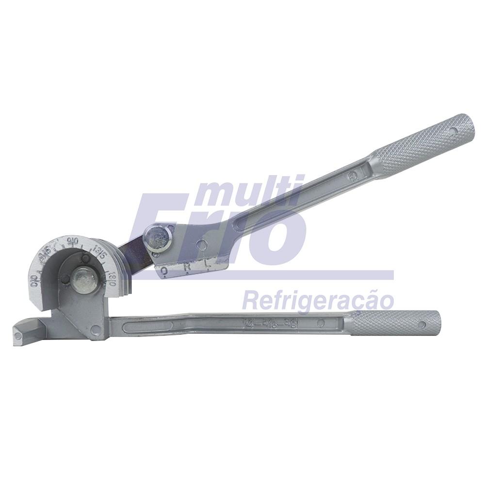 Curvador De Tubo Cobre e Aluminio 180 Graus 1/4 5/16 E 3/8