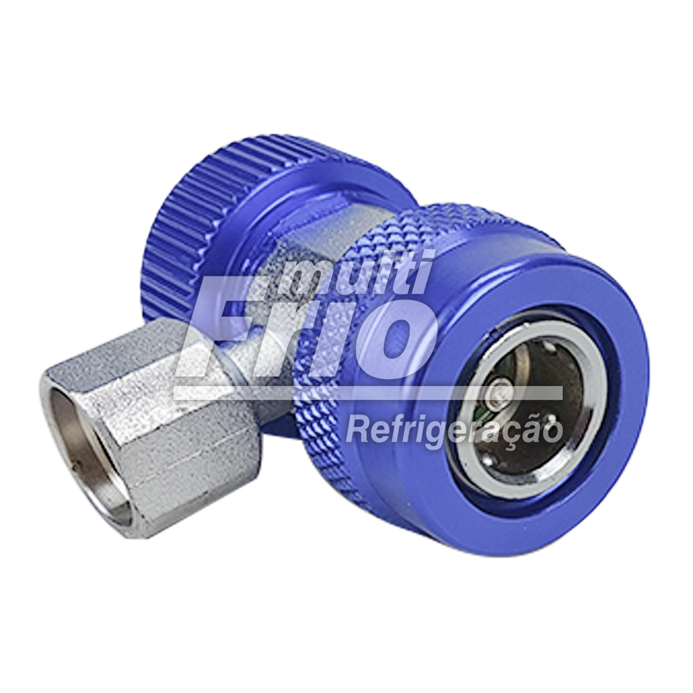 Engate Rápido De Baixa Para Ar Condicionado Automotivo Gás R134a