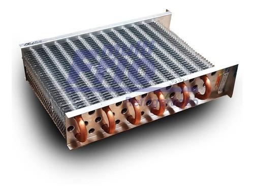 Evaporador Aletado de Cobre Vertical 18 Tubos