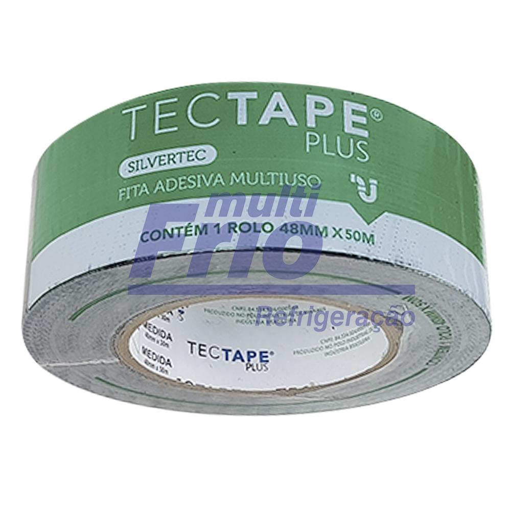 Fita Silver Tape Preta 4,8 CM x 50 M