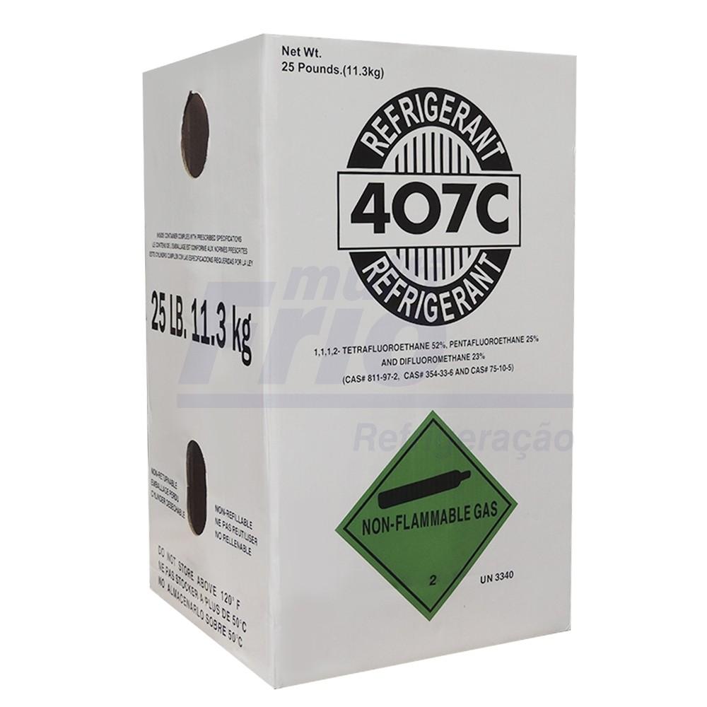 Gás Botija 407 C 11,35 Kg Refrigerante