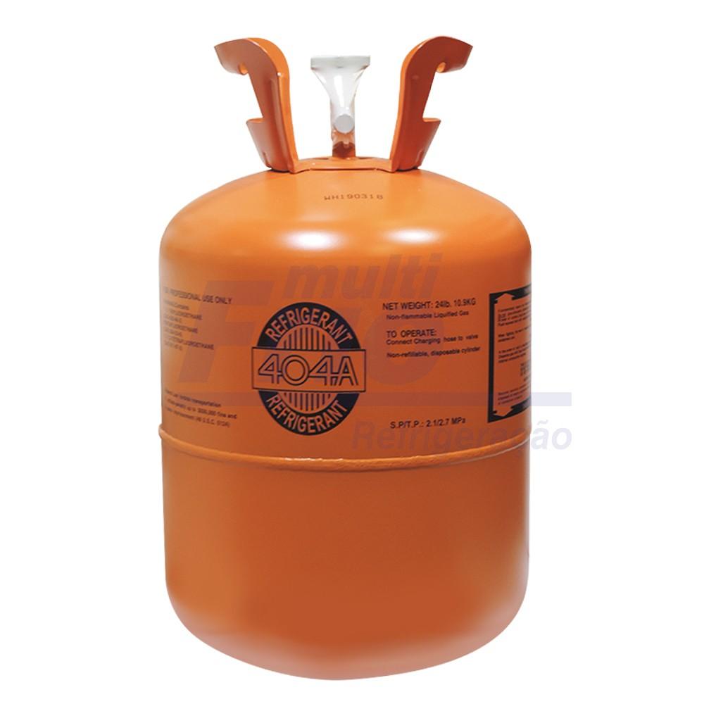 Gás Botija HP62 R404 10,89 Kg Refrigerante