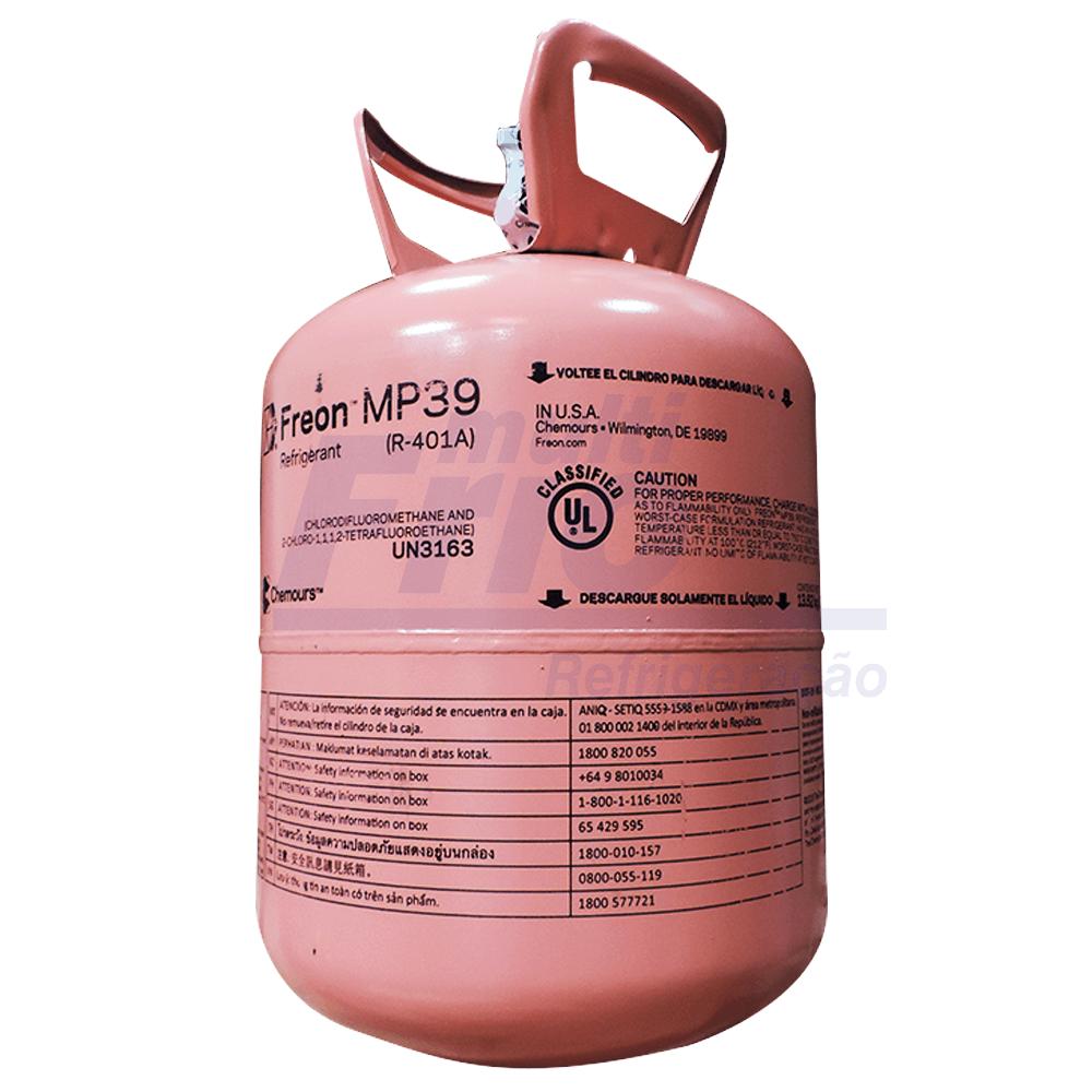 Gás Botija MP39 CHEMOURS 13,36 Kg Refrigerante