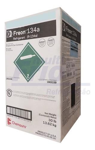 Gás Botija R134A CHERMOUS DUPONT 13,62 Kg Refrigerante