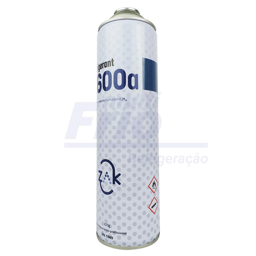 Gás Lata R600A  Refrigerante 420g