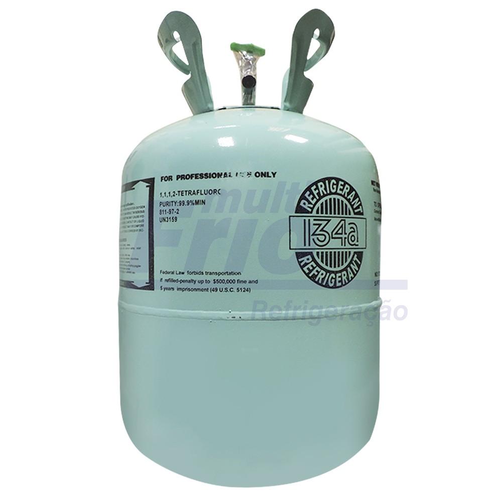 Gas R134a Botija 13,6kg Refrigerante 134a R134