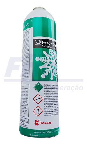 Gas R22 Chemours Dupont Lata 1kg R 22