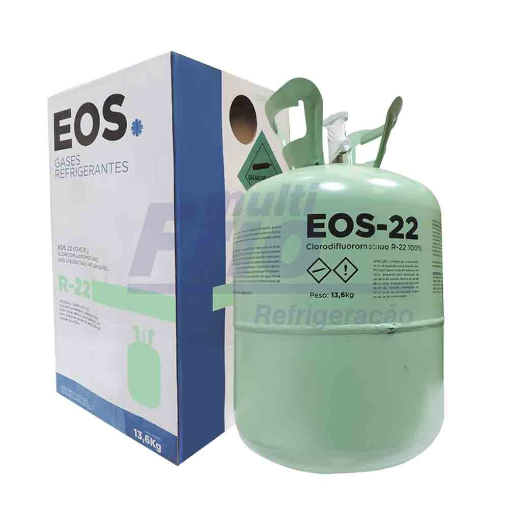 Gas R22 Refrigerante Botija 13,6kg
