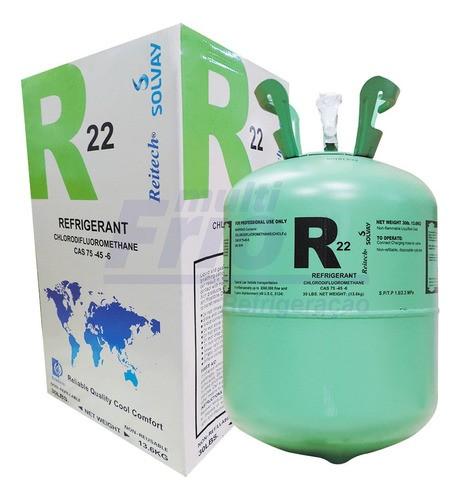 Gas R22 Refrigerante Original Botija 13,6kg