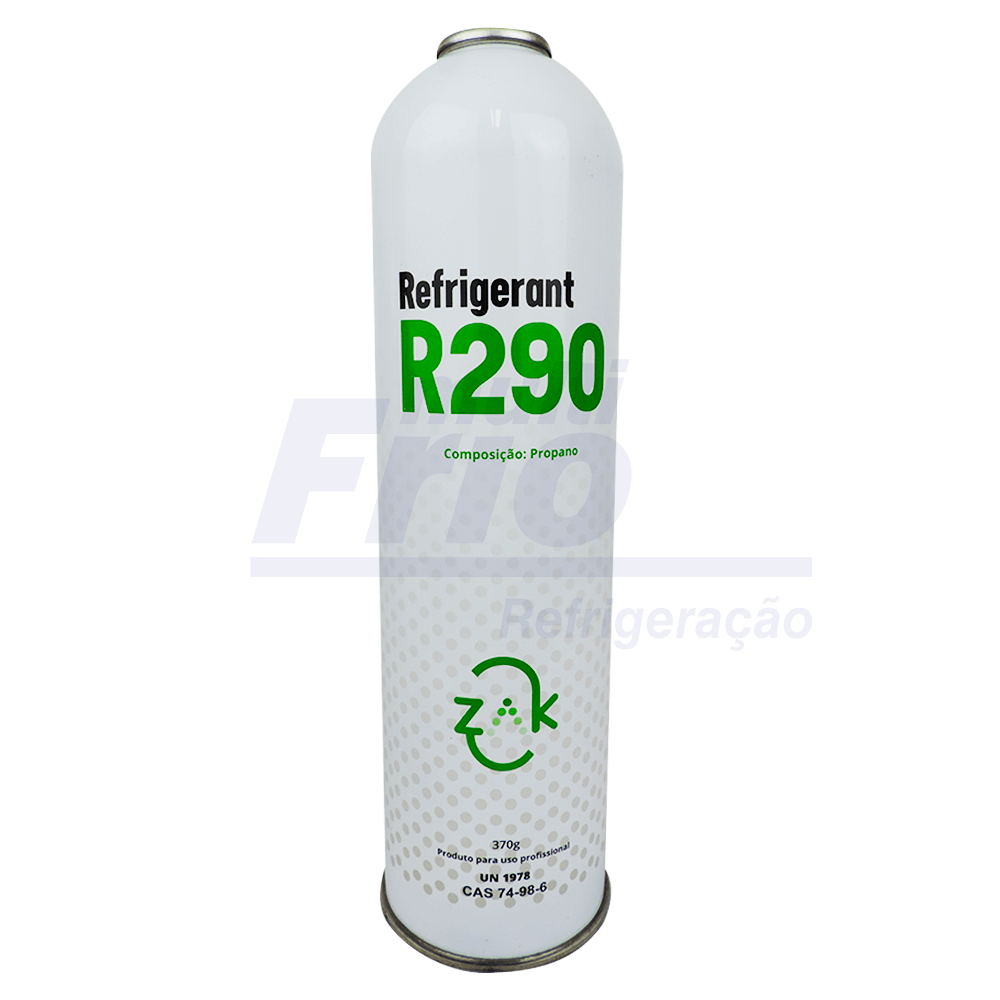 Gás R290 Lata (Embalagem 0,370g)