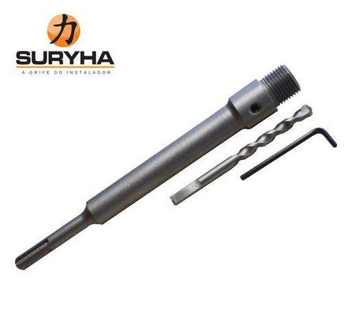 Haste Suporte com Broca para Serra Copo SDS Plus 80150.100 Suryha