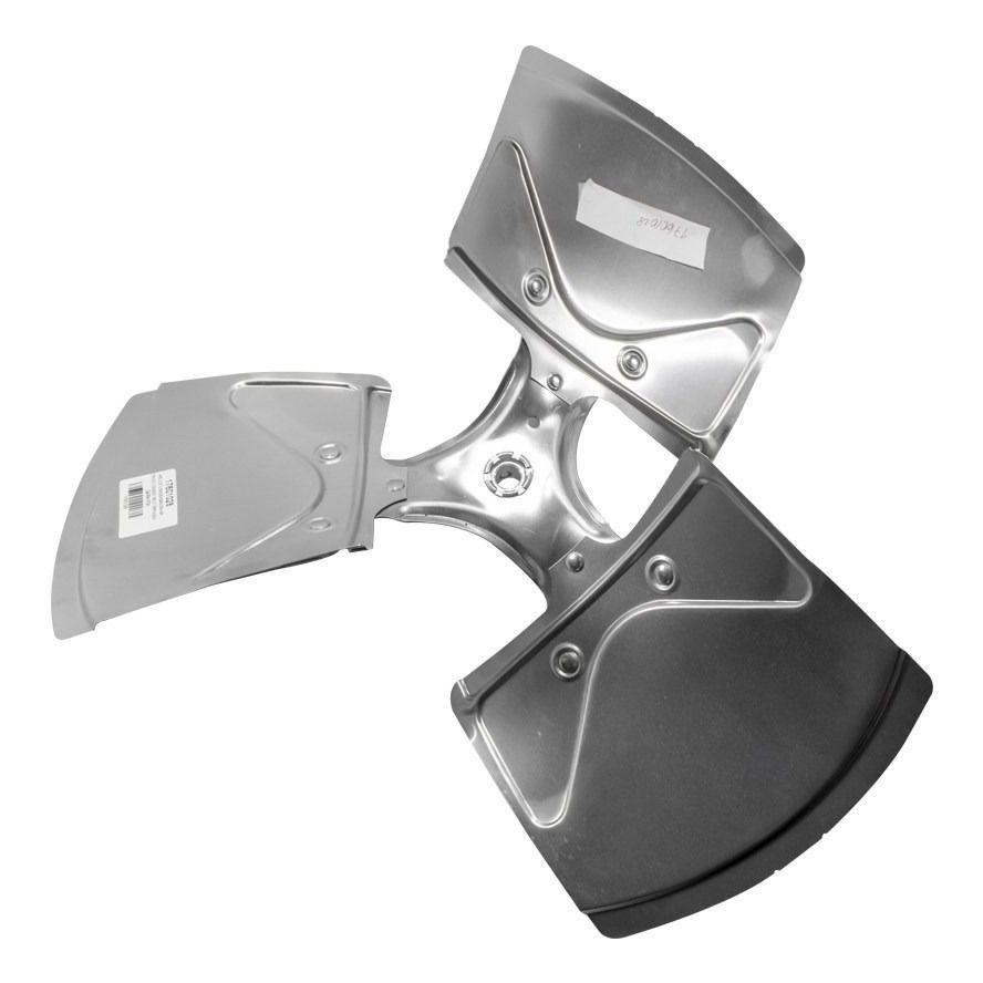 Hélice Condensadora Ar Condiconado Split Springer Carrier Alumínio 17601028 36 Mil a 60 Mil Btus