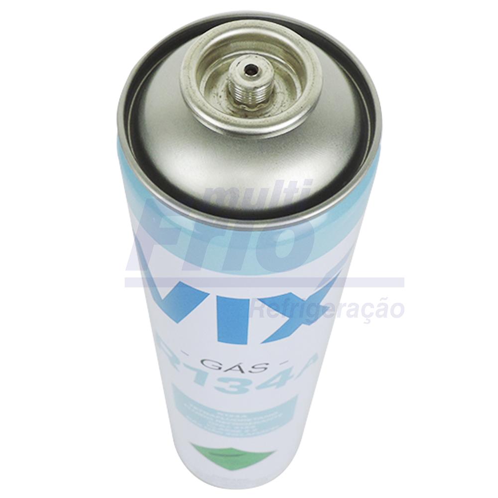 KIT 2 Gás Fluido Refrigerante R134a Lata 0,750kg