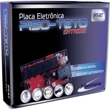 Kit Controle Remoto + Placa Eletrônica Universal Para Piso Teto Extreme Migrare PtXt