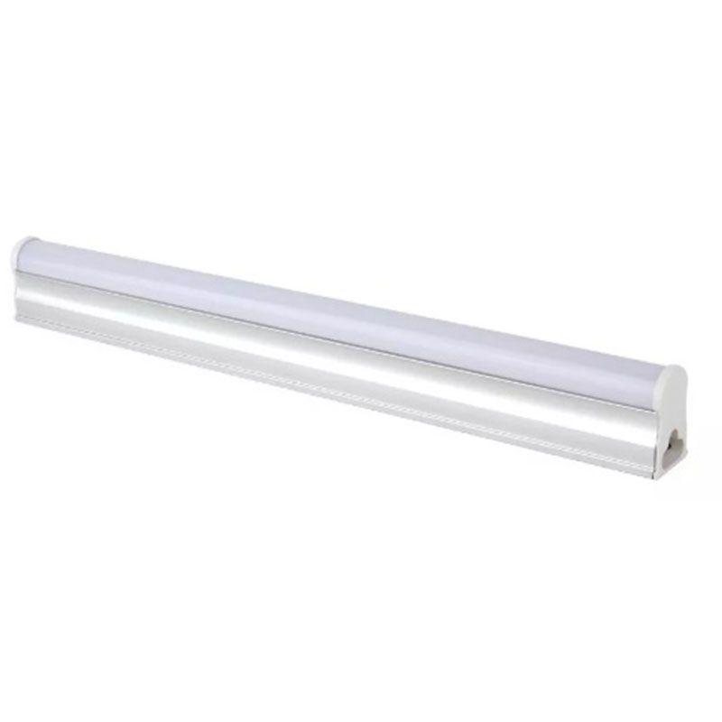 Led Tubular 60CM T5 Branco Frio Com Calha Acoplada