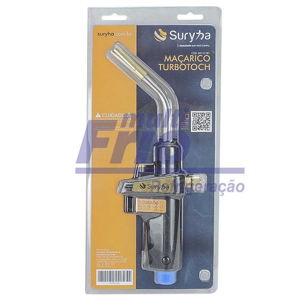 Maçarico Portátil - Acendimento Automático - Suryha