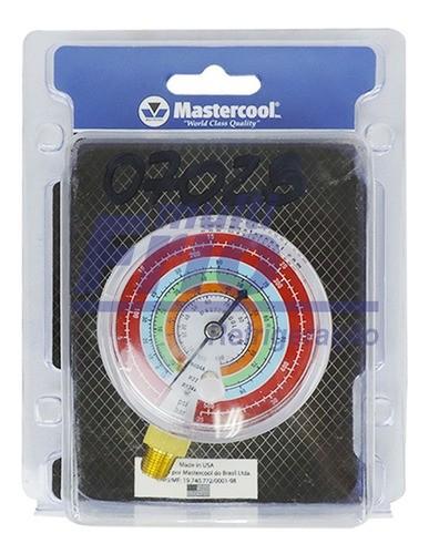 Manômetro Alta Mastercool R134A R22 R404A R12 MRH