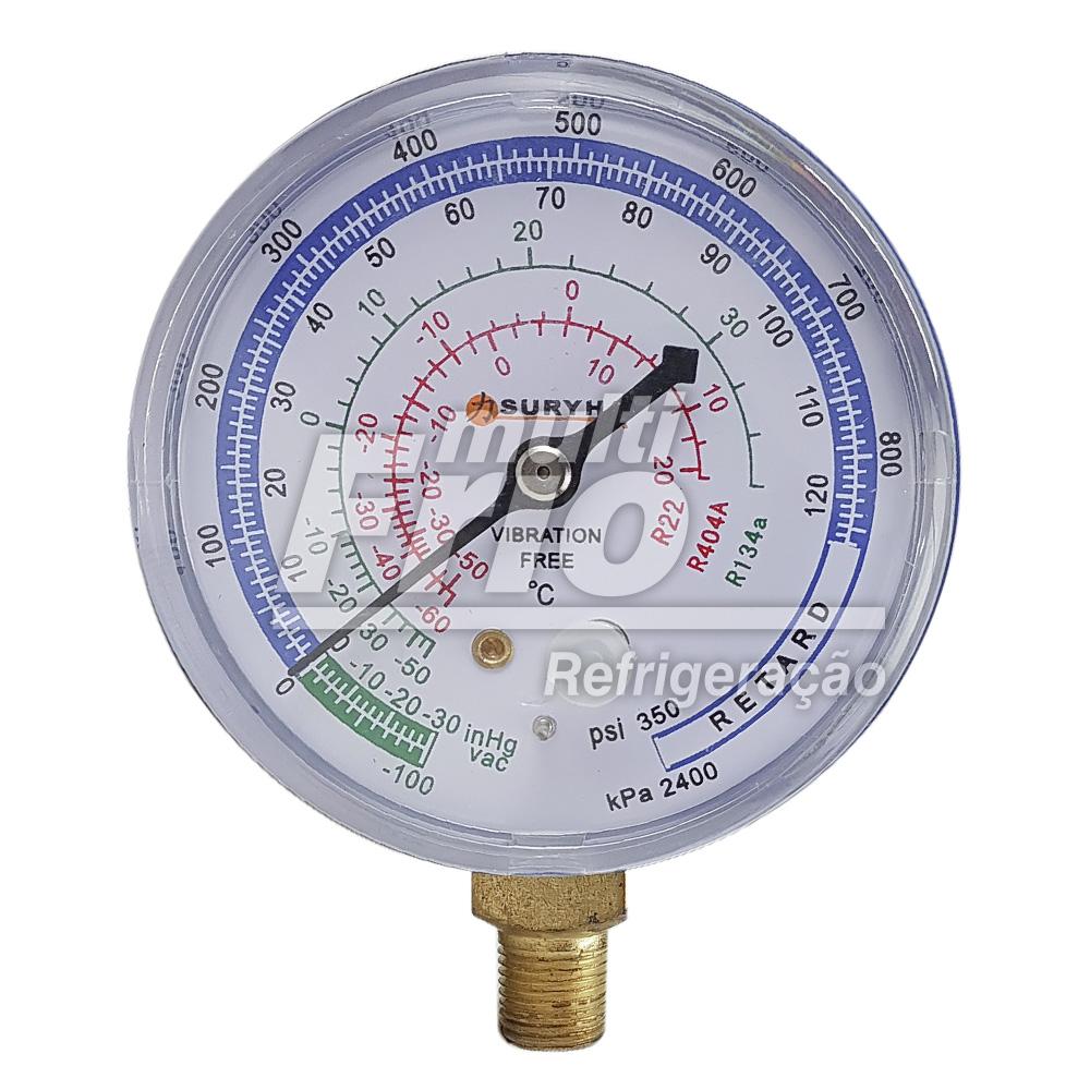 Manômetro De Baixa Para Gás R410A Suryha