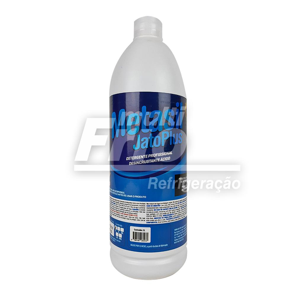Metasil Jato Plus Detergente Desengraxante 1 Litro