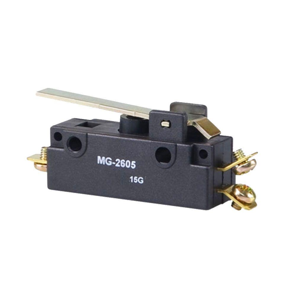 Micro Interruptor de Ação Rápida MG-2605 Haste Rígida