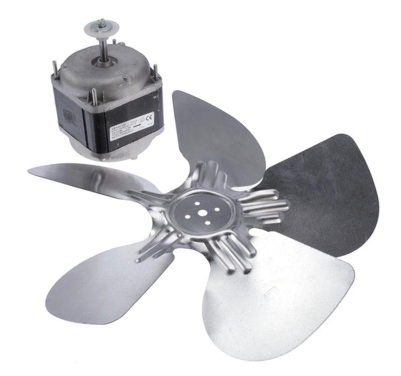 Micro Motor ELGIN 1/40 BIVOLT VENTILADOR 1/40 EXAUSTOR Helice Alumínio 8 Polegadas