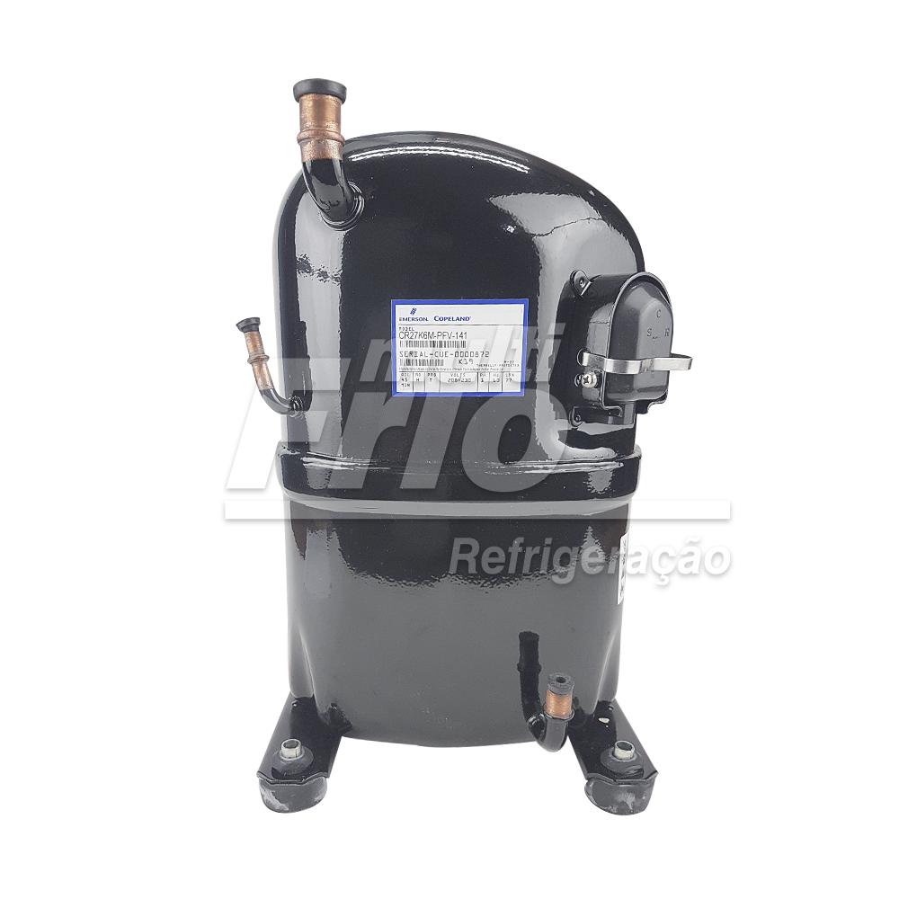 Motor Compressor 2,5 HP Copeland CK27K6M PFV 141 220V Monofásico R22 Média
