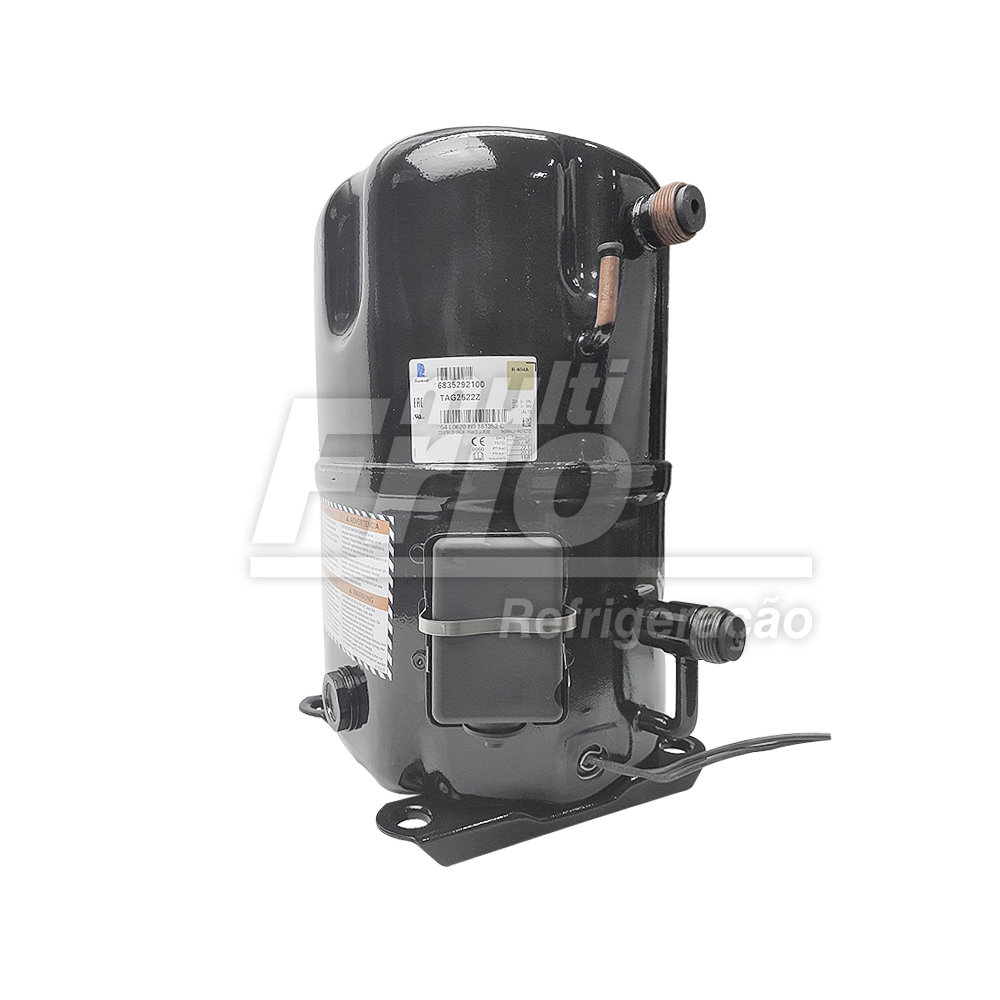 Motor Compressor 5,0 HP Tecumseh Lunite TAG-2522-Z 220v Trifásico R404a Baixa